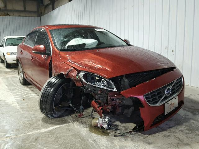 YV1612FS4D1234468 - 2013 VOLVO S60 T5 RED photo 1