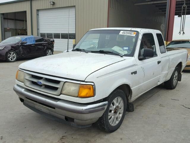1FTCR14A2SPA93450 - 1995 FORD RANGER SUP WHITE photo 2