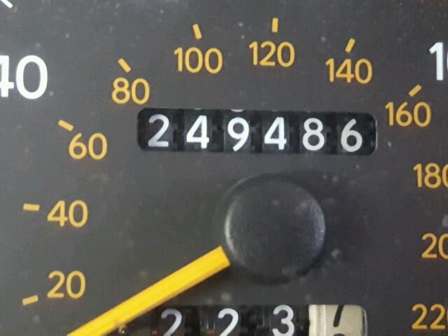 4T1BF12B1TU066500 - 1996 TOYOTA AVALON XL TAN photo 8