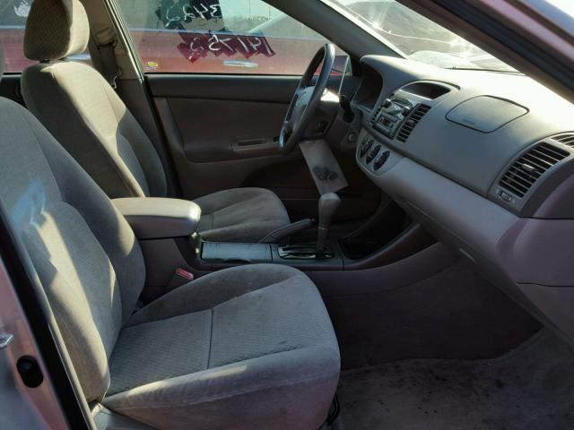 4T1BE32K03U141752 - 2003 TOYOTA CAMRY LE SILVER photo 5