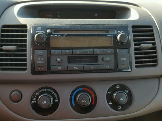 4T1BE32K03U141752 - 2003 TOYOTA CAMRY LE SILVER photo 9