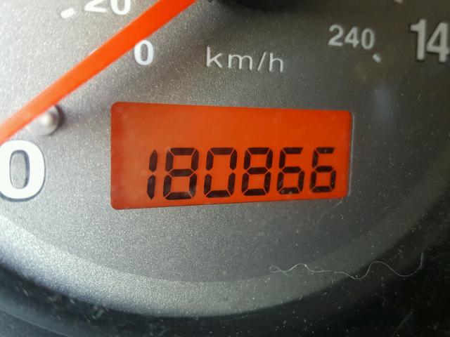 1HGEM22942L011362 - 2002 HONDA CIVIC EX BLACK photo 8