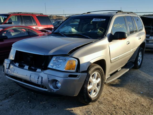 1GKDT13S232213895 - 2003 GMC ENVOY TAN photo 2