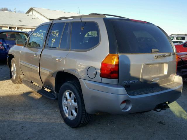 1GKDT13S232213895 - 2003 GMC ENVOY TAN photo 3