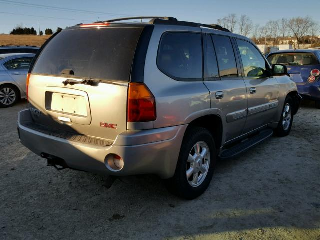 1GKDT13S232213895 - 2003 GMC ENVOY TAN photo 4