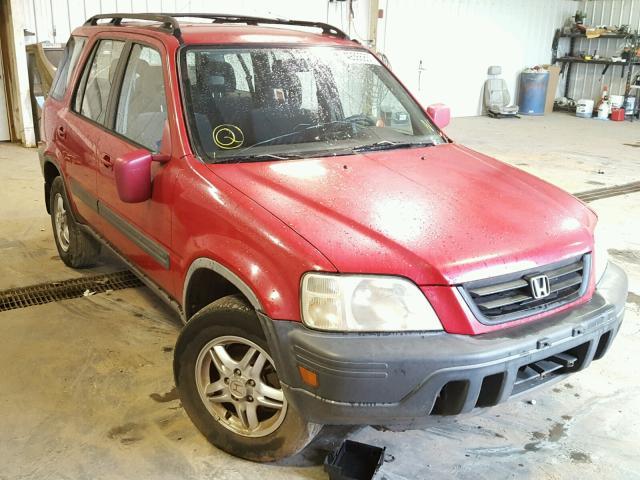 JHLRD1862YC009788 - 2000 HONDA CR-V EX RED photo 1