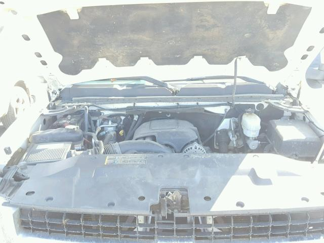1GBHC24K87E575711 - 2007 CHEVROLET SILVERADO WHITE photo 7