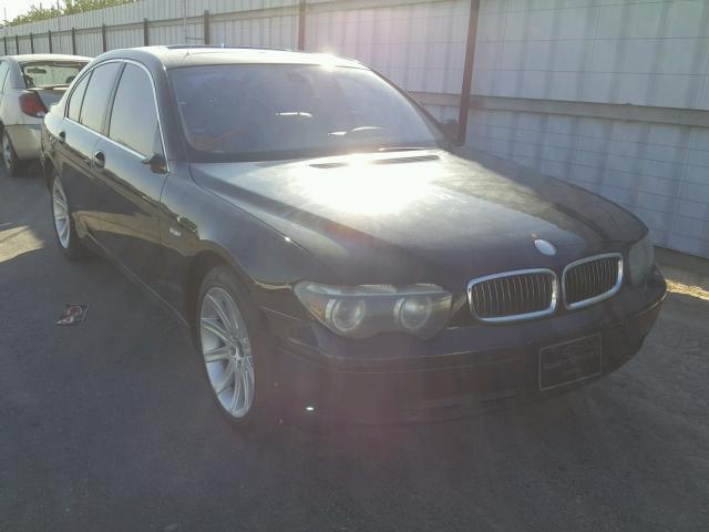 WBAGL63482DP53159 - 2002 BMW 745 I BLACK photo 1
