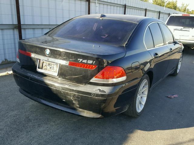 WBAGL63482DP53159 - 2002 BMW 745 I BLACK photo 4