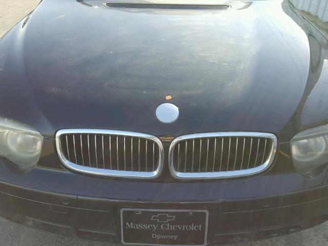 WBAGL63482DP53159 - 2002 BMW 745 I BLACK photo 7