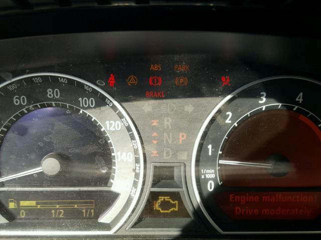 WBAGL63482DP53159 - 2002 BMW 745 I BLACK photo 8