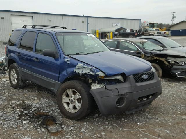 1FMYU03157KB68092 - 2007 FORD ESCAPE XLT BLUE photo 1