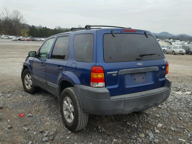 1FMYU03157KB68092 - 2007 FORD ESCAPE XLT BLUE photo 3