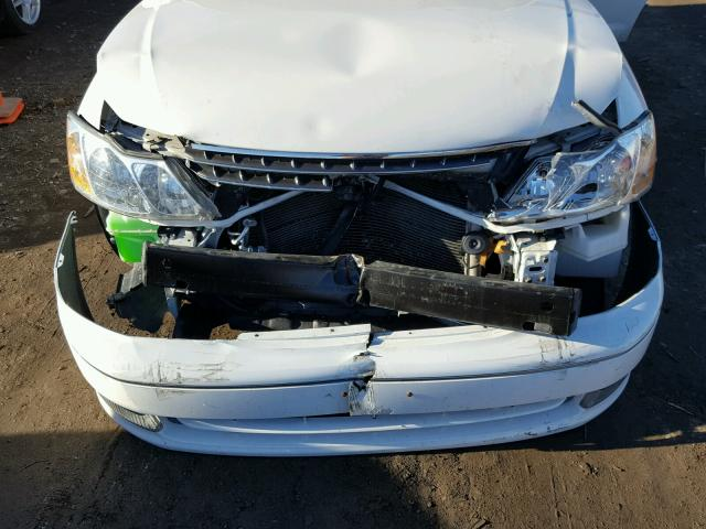 4T1BF28B83U295639 - 2003 TOYOTA AVALON XL WHITE photo 7