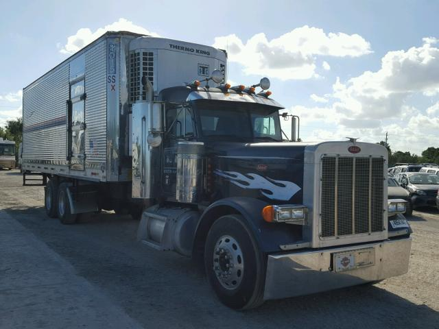 1XP5DB9X63D805566 - 2003 PETERBILT 379 BLUE photo 1