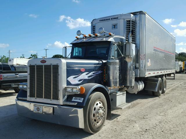 1XP5DB9X63D805566 - 2003 PETERBILT 379 BLUE photo 2