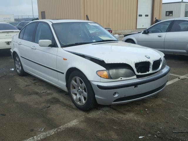 WBAET37492NG78095 - 2002 BMW 325 I WHITE photo 1