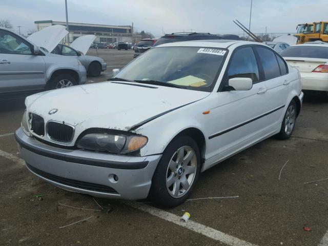 WBAET37492NG78095 - 2002 BMW 325 I WHITE photo 2
