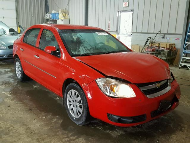 1G1AD5F52A7115273 - 2010 CHEVROLET COBALT 1LT RED photo 1