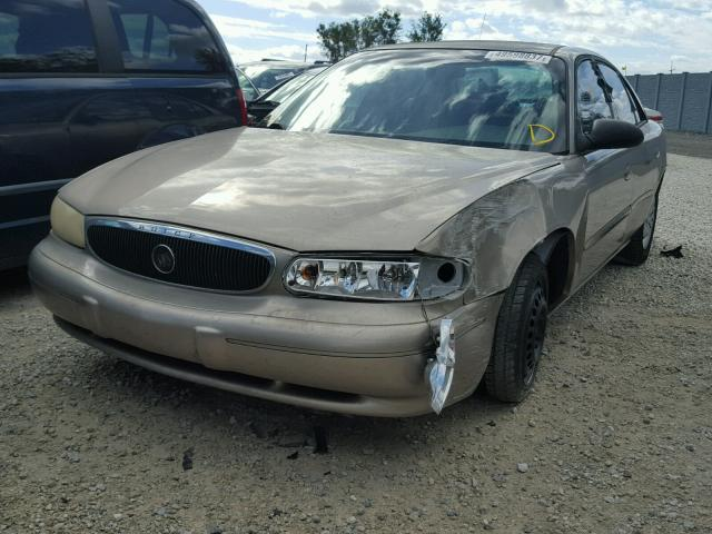 2G4WS52JX31249689 - 2003 BUICK CENTURY CU GOLD photo 2