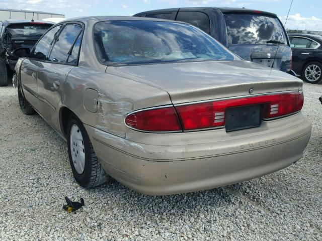 2G4WS52JX31249689 - 2003 BUICK CENTURY CU GOLD photo 3