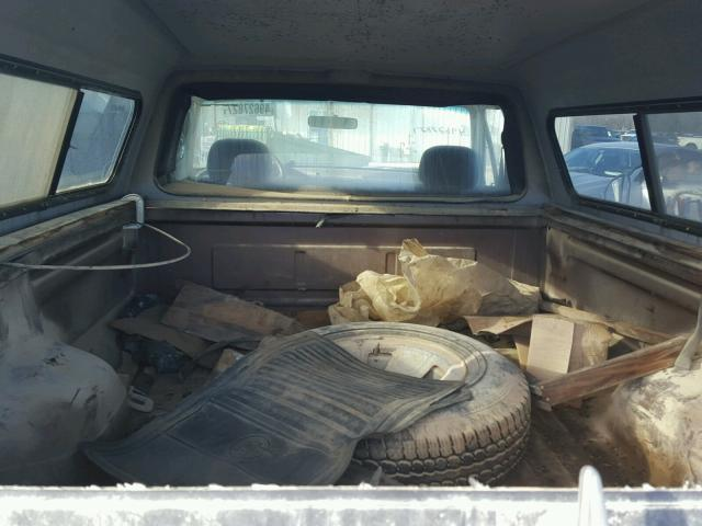 1FTEF14N6NLA50066 - 1992 FORD F150 BROWN photo 6