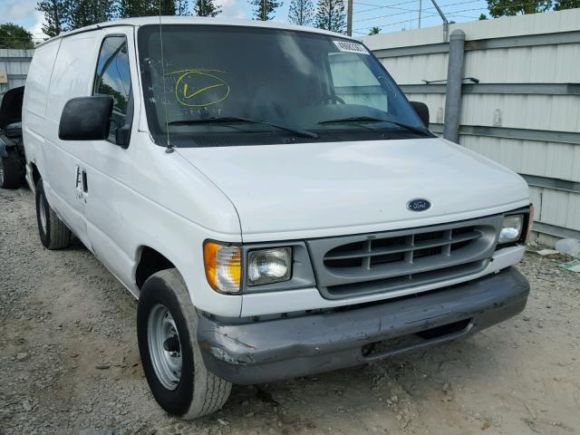 1FTRE14221HB39060 - 2001 FORD ECONOLINE WHITE photo 1