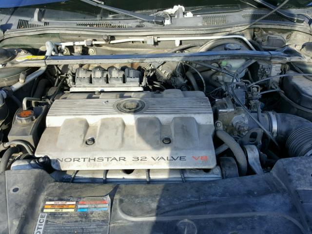 1G6KD54Y6WU745205 - 1998 CADILLAC DEVILLE GREEN photo 7