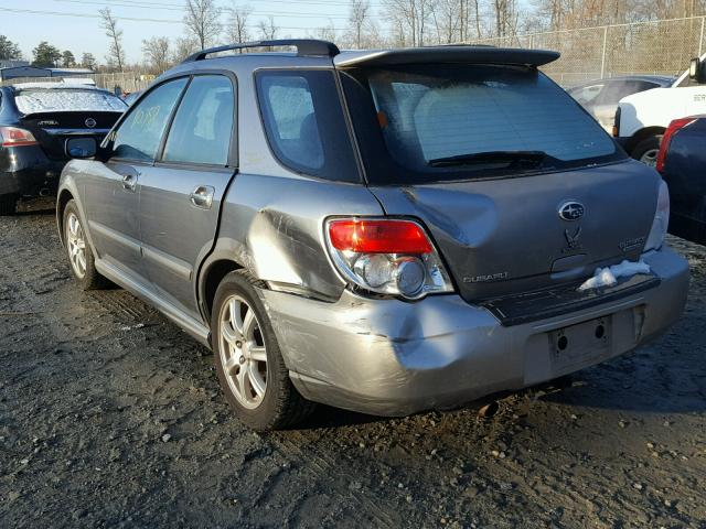 JF1GG636X7G805668 - 2007 SUBARU IMPREZA OU GRAY photo 3