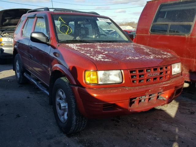 4S2CM58W2X4337560 - 1999 ISUZU RODEO S RED photo 1