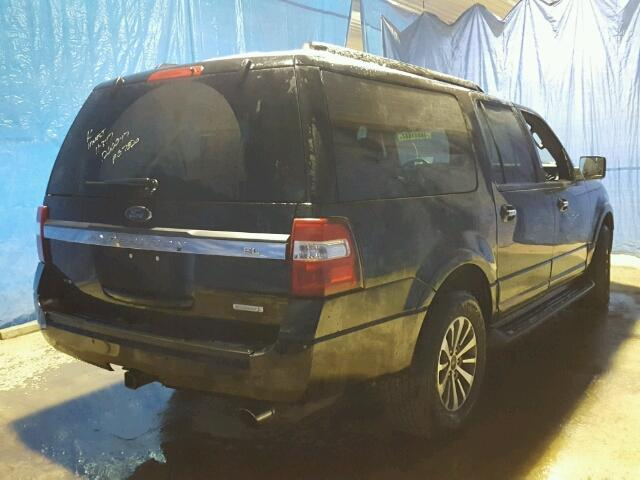 1FMJK1JT6HEA07820 - 2017 FORD EXPEDITION BLACK photo 4