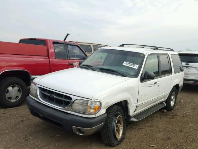 1FMZU34X7XZB50564 - 1999 FORD EXPLORER WHITE photo 2