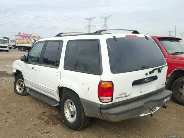 1FMZU34X7XZB50564 - 1999 FORD EXPLORER WHITE photo 3