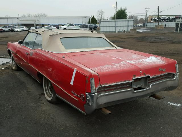 484670H115196 - 1970 BUICK ELECTRA225 RED photo 3