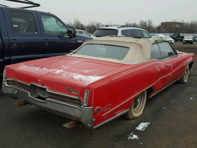484670H115196 - 1970 BUICK ELECTRA225 RED photo 4