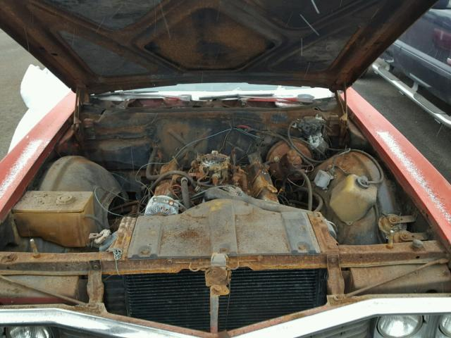 484670H115196 - 1970 BUICK ELECTRA225 RED photo 7