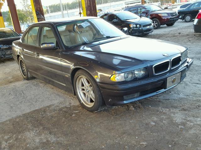 WBAGG83491DN85885 - 2001 BMW 740 I AUTO WHITE photo 1