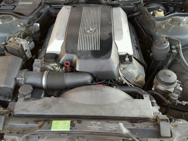 WBAGG83491DN85885 - 2001 BMW 740 I AUTO WHITE photo 7