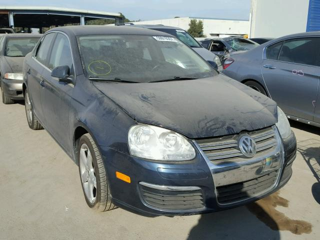 3VWRM71K09M030207 - 2009 VOLKSWAGEN JETTA SE BLUE photo 1