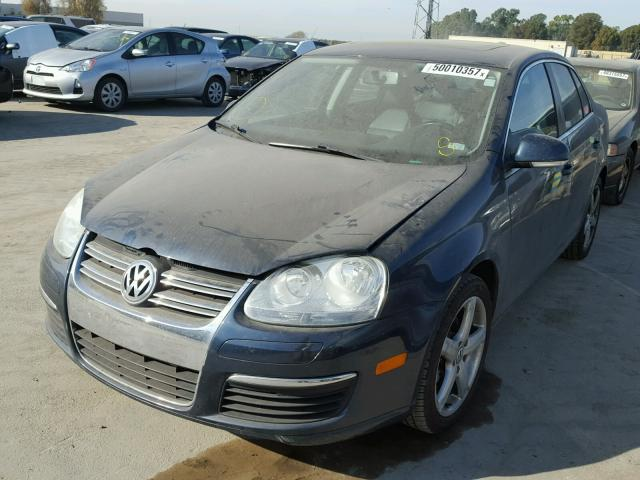 3VWRM71K09M030207 - 2009 VOLKSWAGEN JETTA SE BLUE photo 2
