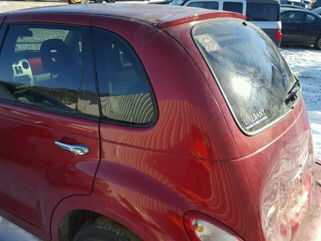 3A8FY48B28T130448 - 2008 CHRYSLER PT CRUISER RED photo 3