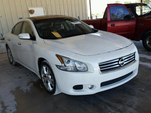 White Nissan Maxima >> 2013 Nissan Maxima S White 1n4aa5ap5dc826413 Price History History Of Past Auctions