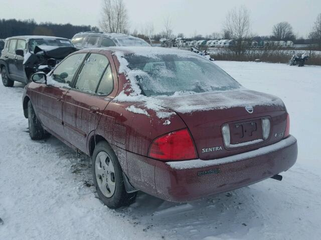 3N1CB51D65L514857 - 2005 NISSAN SENTRA 1.8 RED photo 3