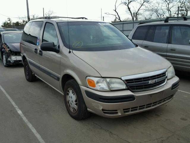 1GNDU03E82D232037 - 2002 CHEVROLET VENTURE TAN photo 1