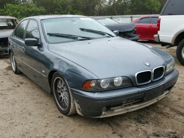 WBADT634X3CK31899 - 2003 BMW 530 I AUTO BLUE photo 1