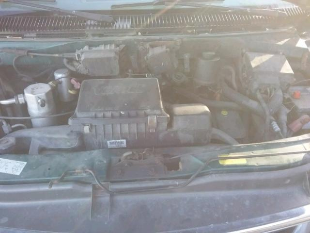 1GKEL19XX3B503812 - 2003 GMC SAFARI XT GREEN photo 7