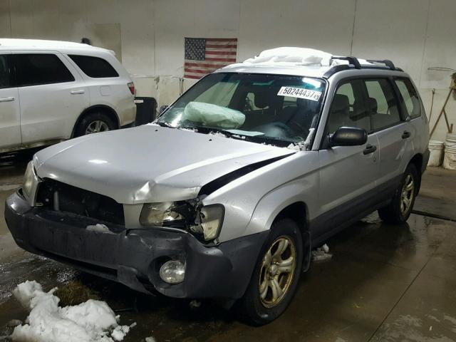 JF1SG63603H758956 - 2003 SUBARU FORESTER 2 SILVER photo 2
