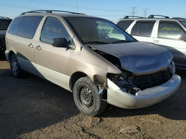 4T3ZF13C7WU050271 - 1998 TOYOTA SIENNA LE GOLD photo 1