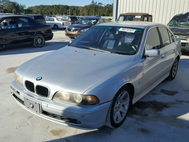 WBADT33443GF43601 - 2003 BMW 525 I SILVER photo 2