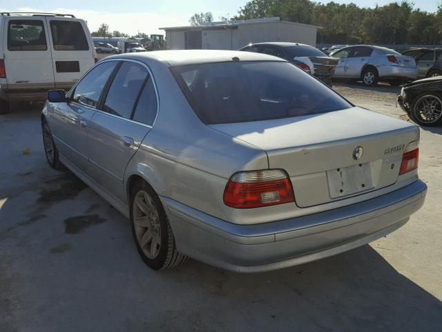 WBADT33443GF43601 - 2003 BMW 525 I SILVER photo 3